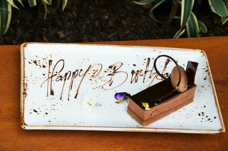 Chocolate Hazelnut Mouse Cake