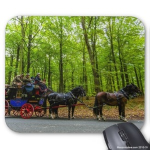Mouse Mats: Subject - Horses