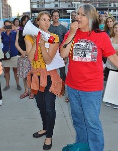 Peoples Climate Train rally - Denver 9/16/14