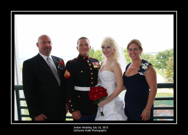 AMBER AND CHRIS FORMALS WITH WEDDING PARTY