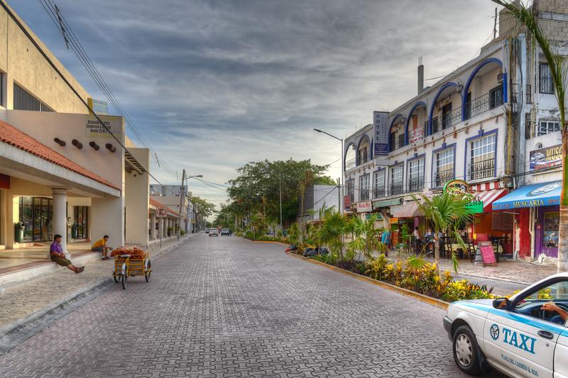 10 Avenida Norte - Playa del Carmen, Mexico - August 15, 2014