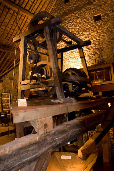 Part of the mill assembly.