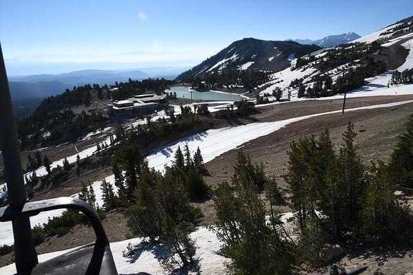 Mammoth Skiing July 19, 2017