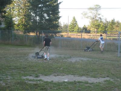 Ball Field Maintenance - Jul 26