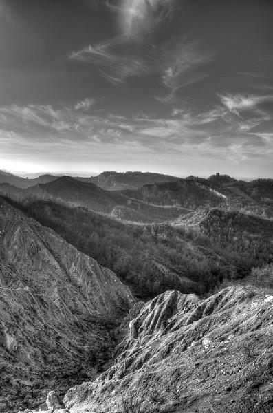 Badlands - Quattro Castella, Reggio Emilia, Italy - February 19, 2011