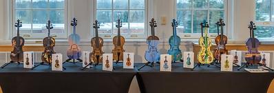 Painted Violins drawing MDH 2019
