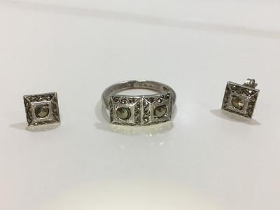 earring + ring set