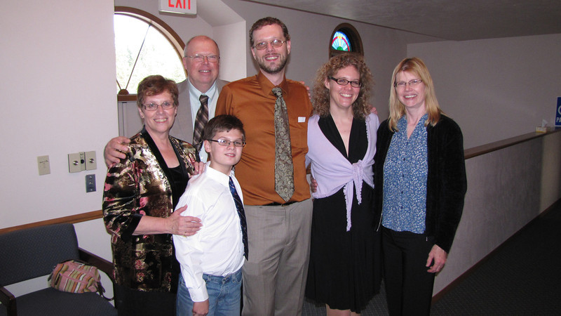 Judy, Warren, Chris, Elissa, Val and Dylan