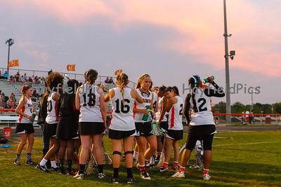 Girls Lacrosse Edison 4/24/13