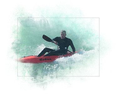 Kayak Surfer 8X10