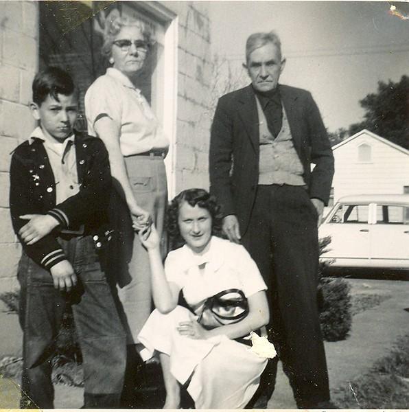 Aunt Jose, Leon Watson, Dwayne Watson & Betty Jean