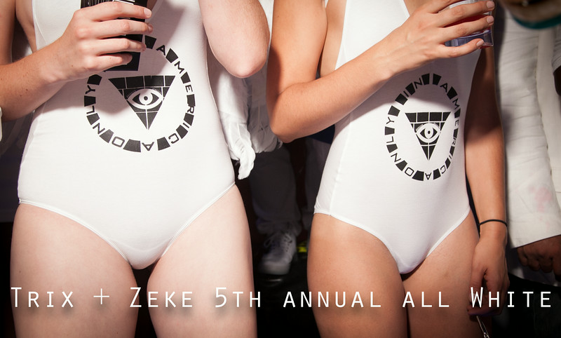 Trix + Zeke 5th Annual All White
