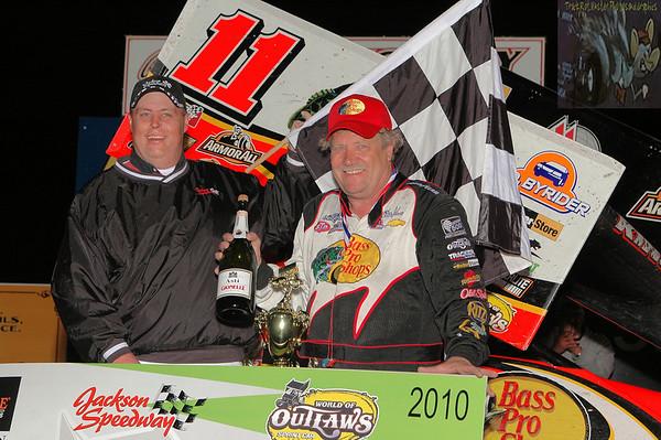 Jackson Speedway - WoO Sprints - May 1, 2010