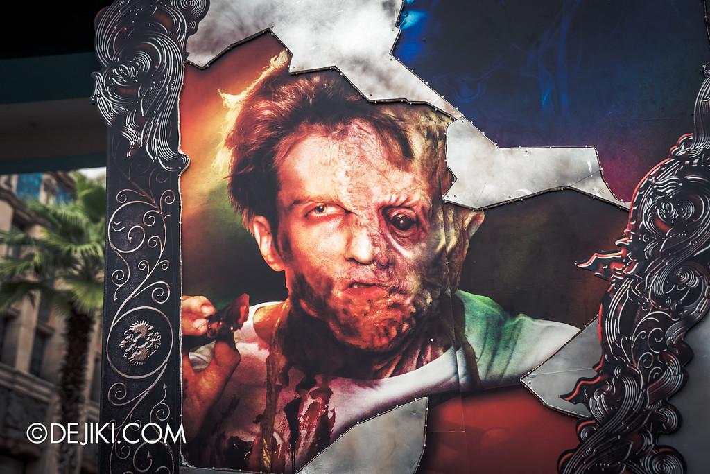 Universal Studios Singapore - Halloween Horror Nights 6 Before Dark Day Photo Report 2 - Park Entrance Damien Shipman shard
