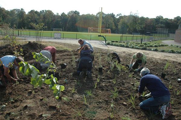 2012-10-10 Planting of the Rain Garden