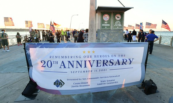9/11 Commemoration at 69th Street Pier
