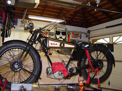 1927 BSA reference and teardown photos