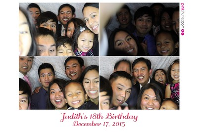 SF - 12-18-15 - Judith's 18th Birthday