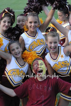 Middle School Cheerleading