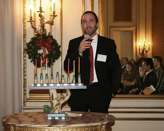 Dec 3, 2008 Chanukah celebration, the Jewish Festival of Lights