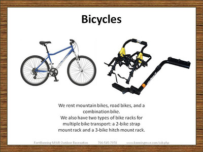 Bicycles and Accessories