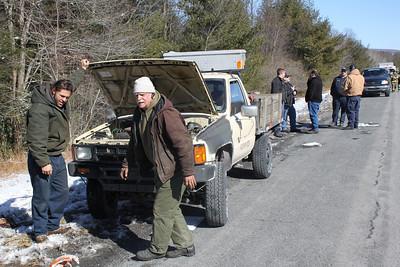 Vehicle Fire Response, False Alarm, SR-209, Pottsville Stretch, Walker Township (2-23-2011)