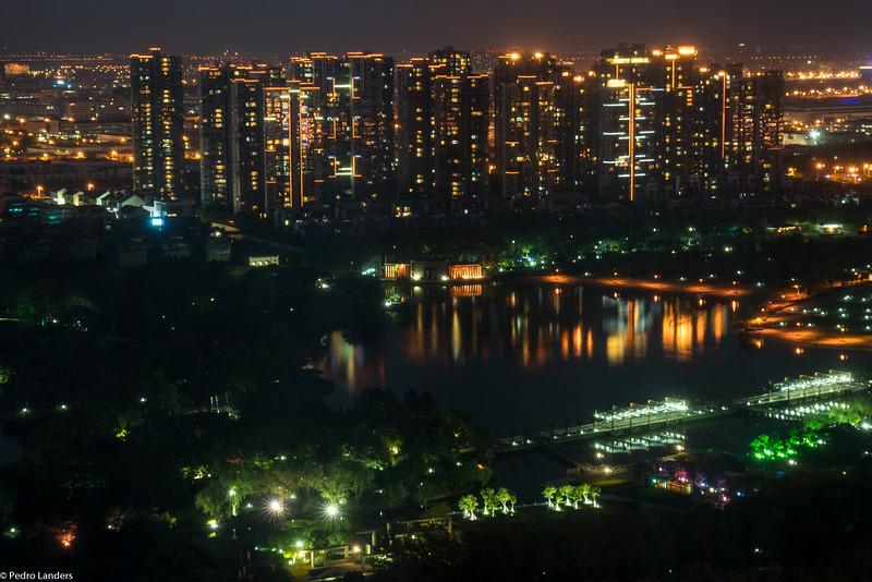 Baitang Pond at Night - Suzhou 2
