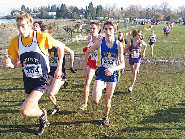 2005 Canadian XC Championships - The guys come through after lap 3
