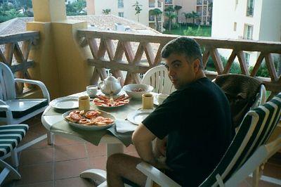 Honeymoon-our apt. at the Marriott resort