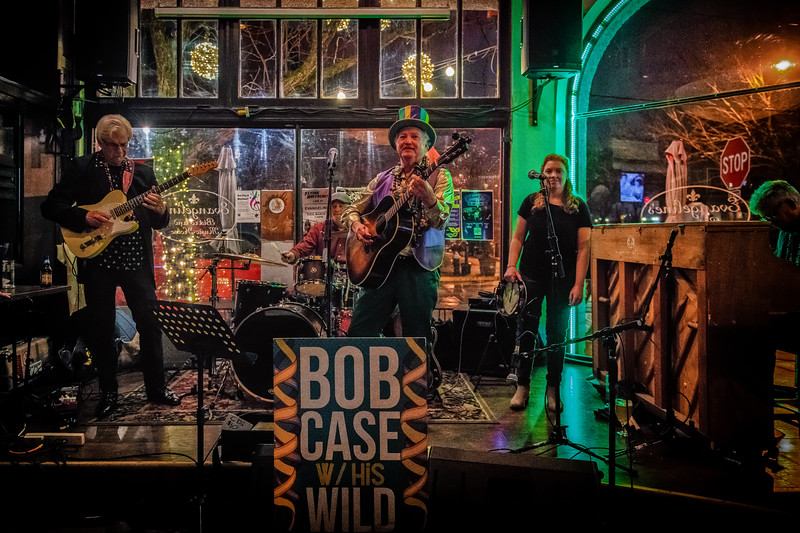 Bob Case and his Wild Accusations Lundi Gras