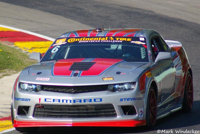 2nd Andrew Davis/Robin Liddell Camaro Z/28.R