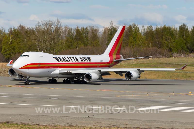 Kalitta Air 747-400 - N402KZ - ANC