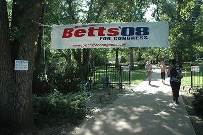 Congressman Cleaver with Sen Betts July 2008