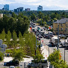 Cityscape of Anchorage Alaska high view
