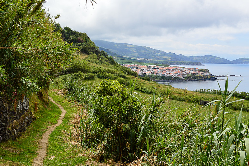 Our hike destination: the village of Maia