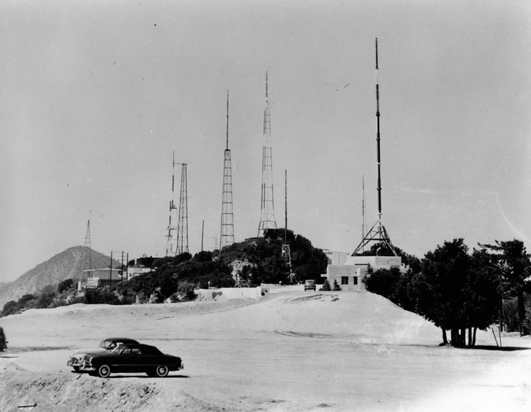 1949, Parking Lot and Antennas