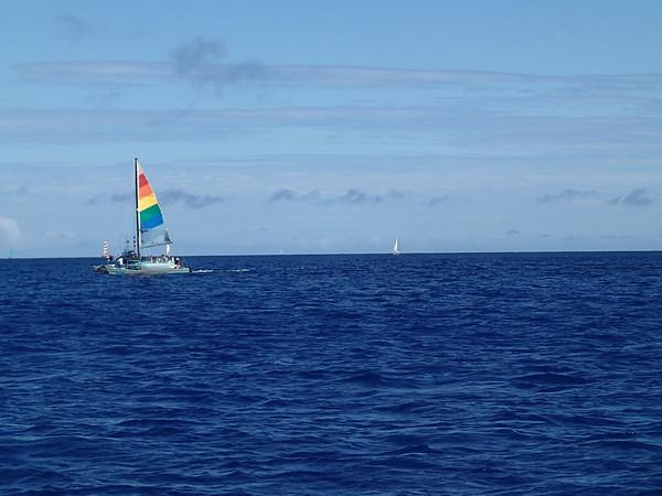 Oahu: Sailing Waikiki - Aug 21, 2016