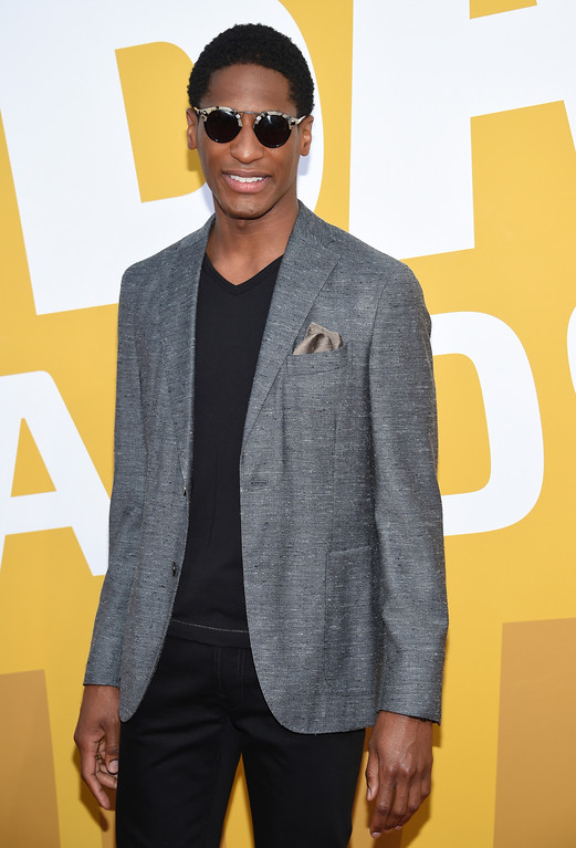 . Jon Batiste arrives at the NBA Awards at Basketball City at Pier 36 on Monday, June 26, 2017, in New York. (Photo by Evan Agostini/Invision/AP)