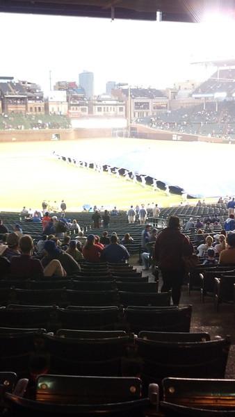 Cubs Game with Meg - April 2014