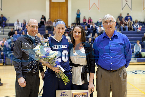 Women's Basketball - Senior Day