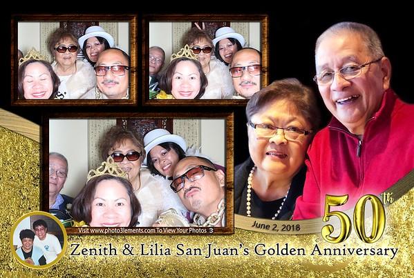 Zenith & Lilia's 50th Golden Anniversary