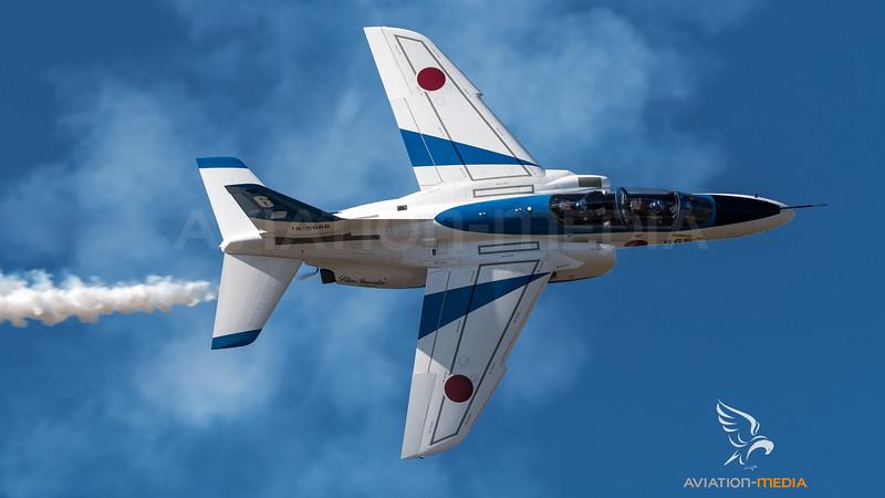 JASDF 11 Hikotai / Kawasaki T-4 / 16-5666 / Blue Impulse Livery