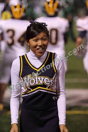 2009 09 17 Varsity Cheer vs. West Bloomfield