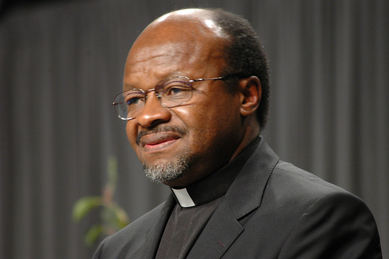 Dr.Ishmael Noko, secretary of the Lutheran World Federation