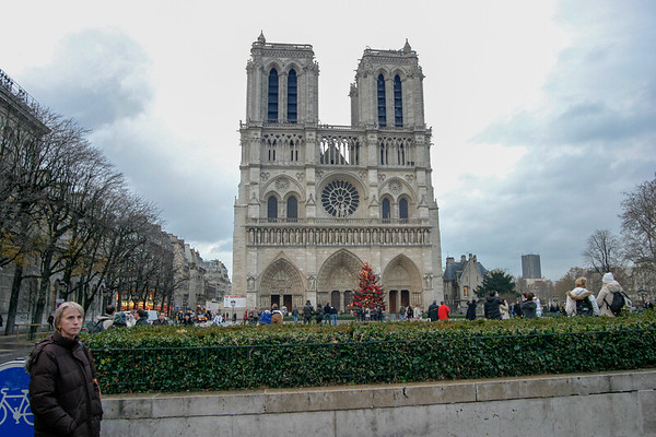 Notre Dame de Paris, France - December, 2005