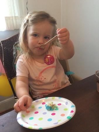 Myra's Second Birthday