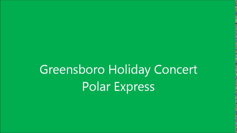 Holiday Show at Greensboro Coliseum - Polar Express
