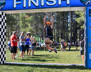 Donner Lake Tri Sprint Finish