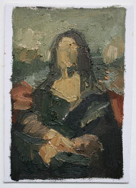 Aschely Cone after Leonardo