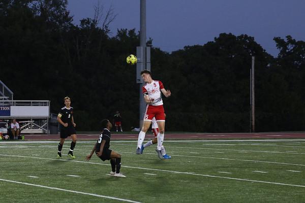 Men's Soccer Game Day Action